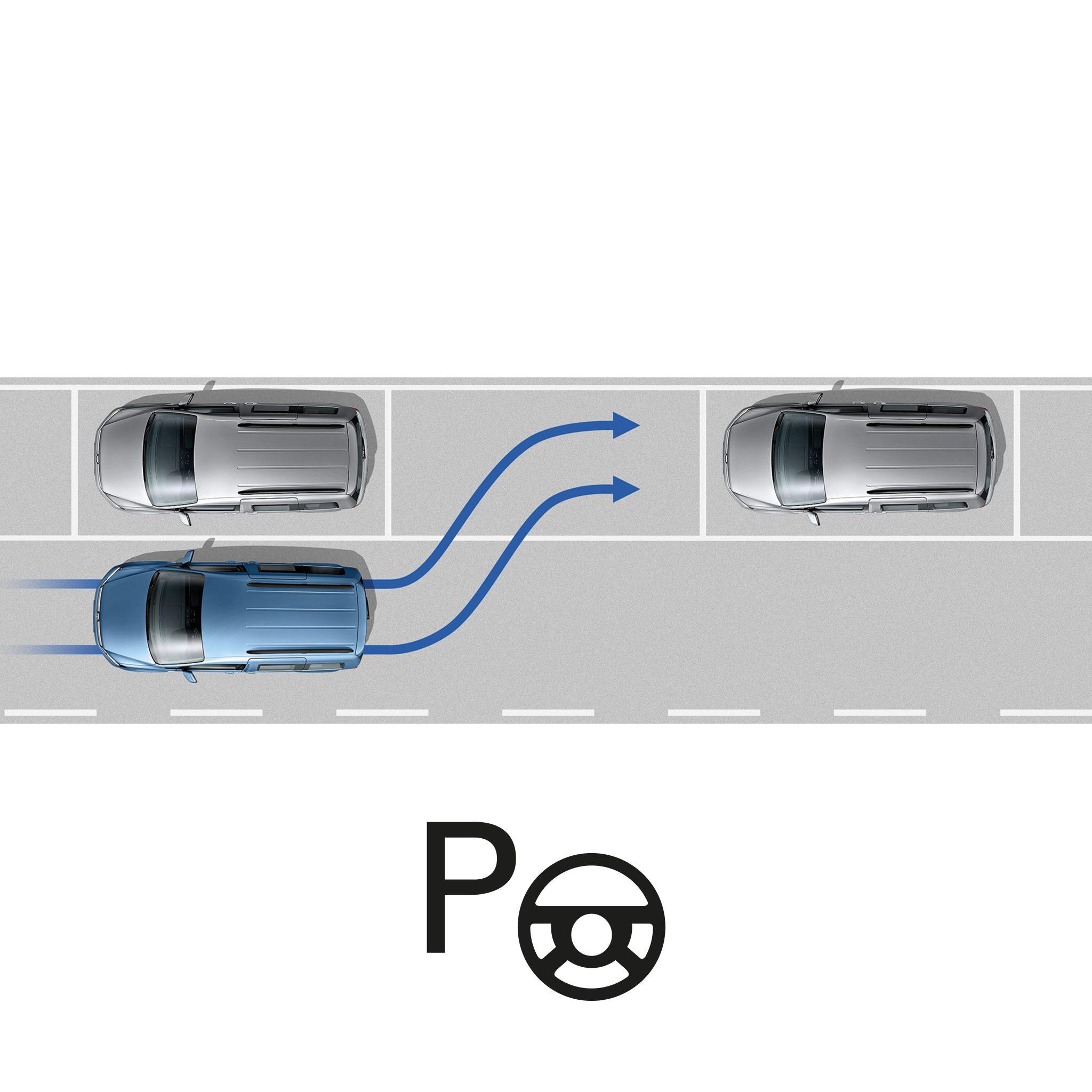 Парковочный автопилот Park Assist Фольксваген Кадди грузовой