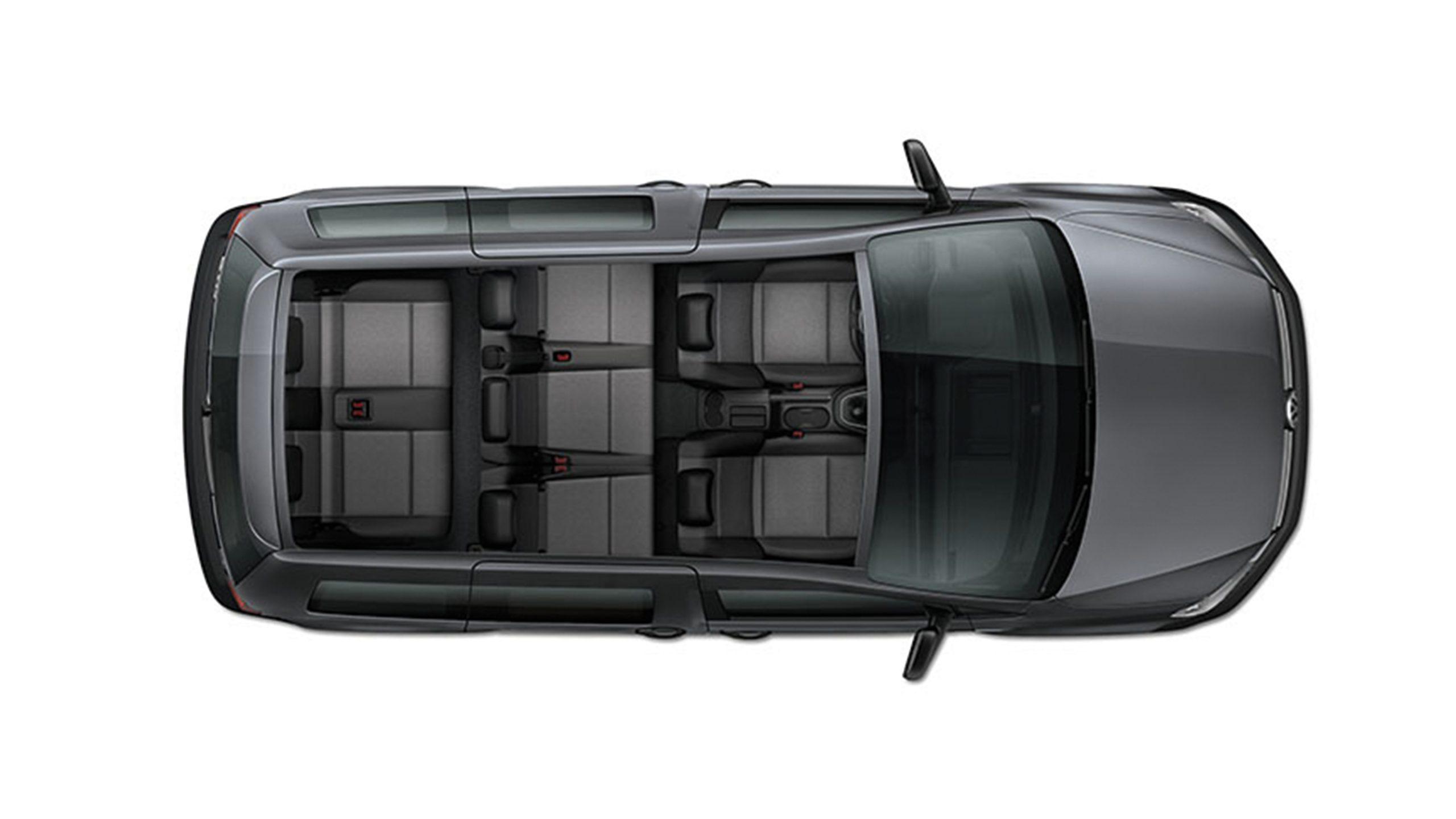 Конфигурация сидений Volkswagen Caddy грузовой