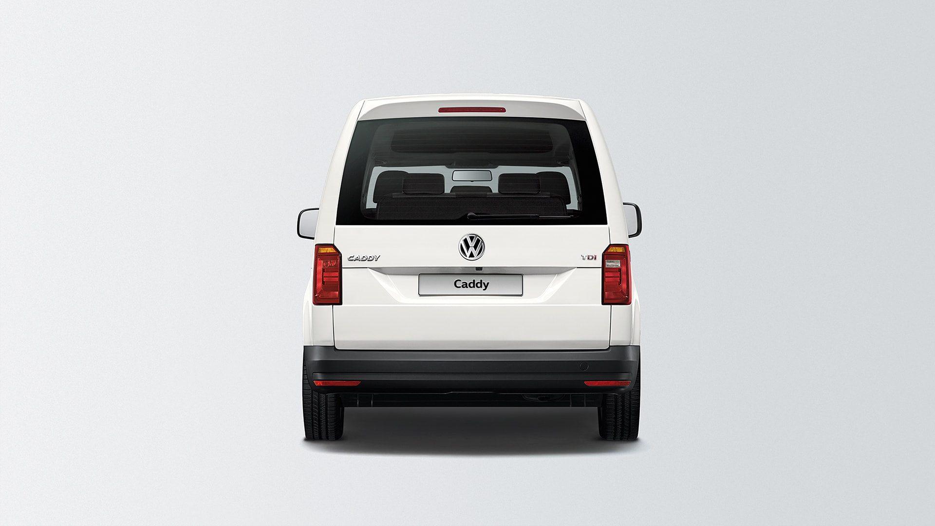 Варианты исполнения задней двери грузовой Volkswagen Caddy
