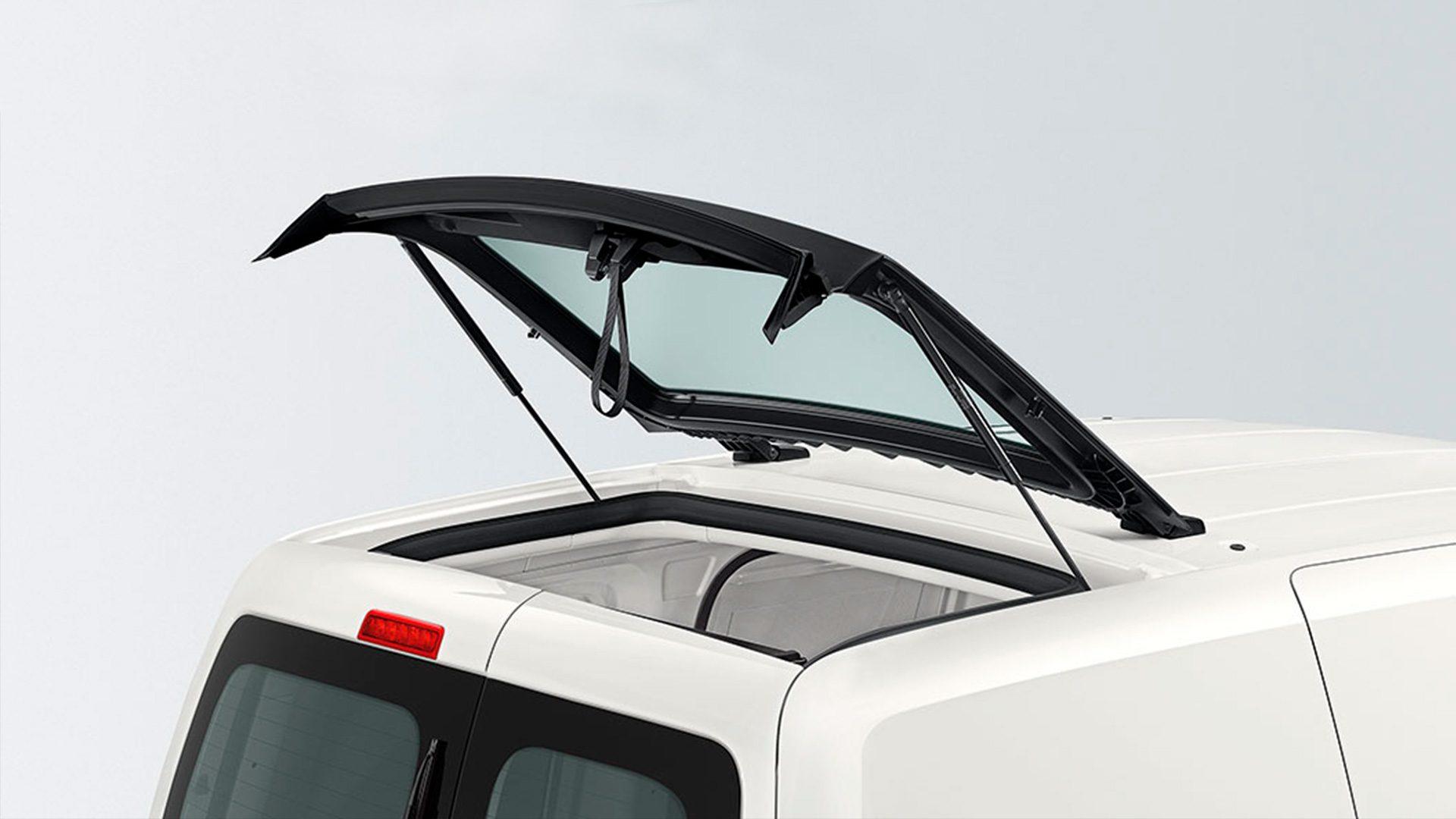 Volkswagen Caddy грузовой - варианты исполнения задней двери