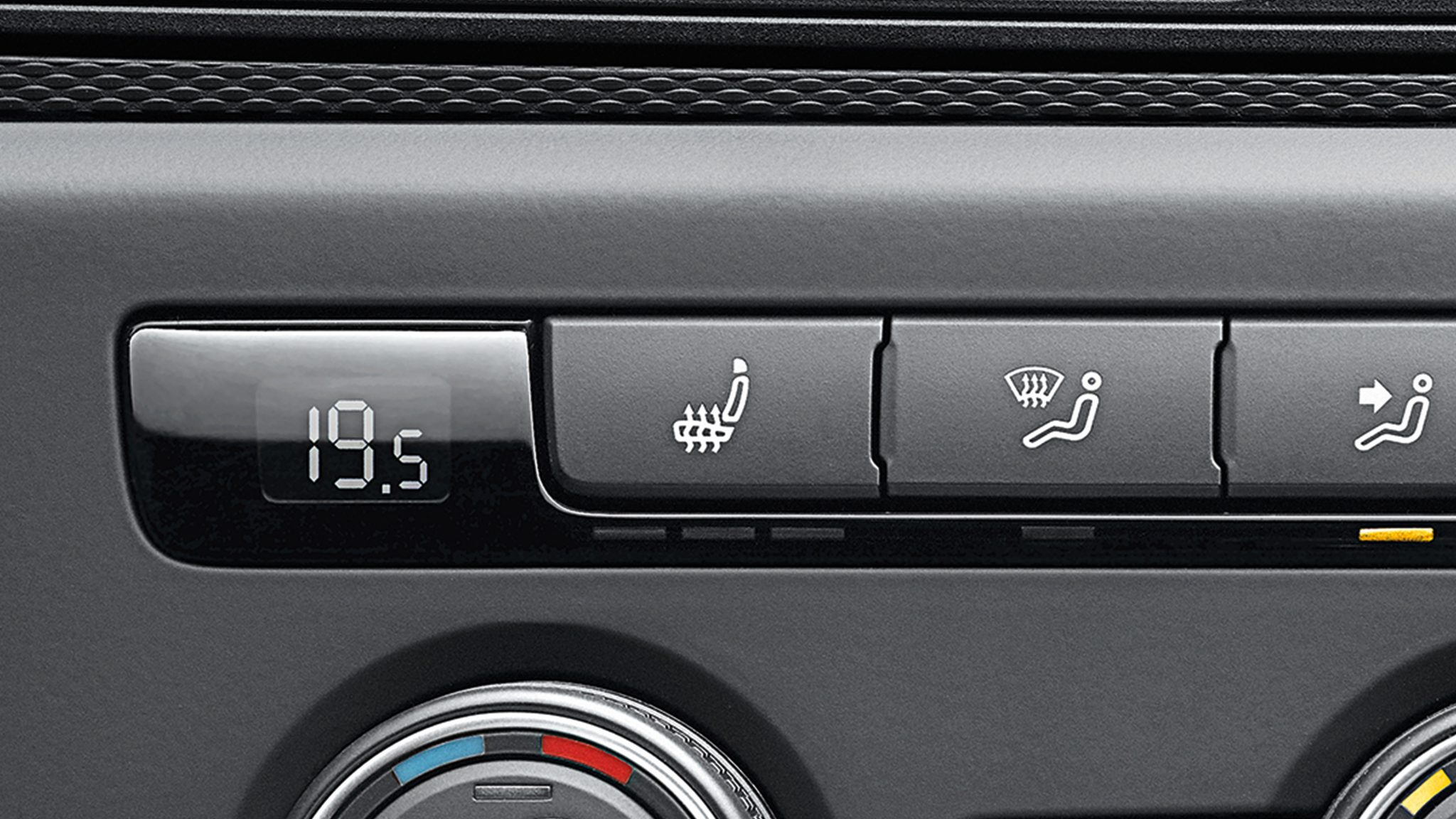 Обогрев передних сидений Volkswagen Caddy грузовой