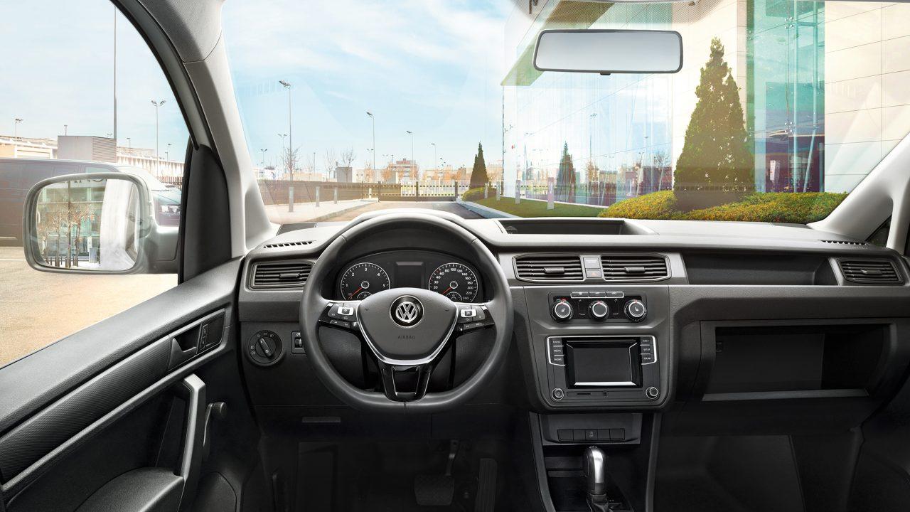 Передняя панель грузового VW Caddy