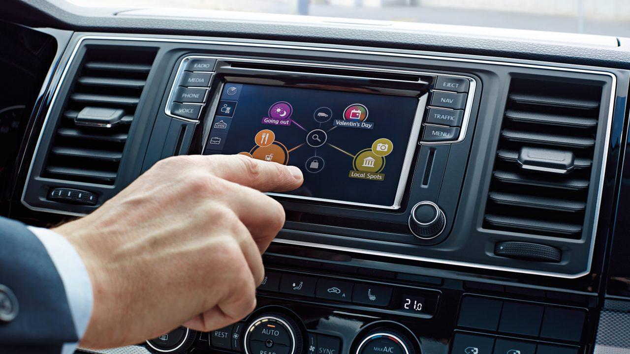 Дисплей Volkswagen Caravelle