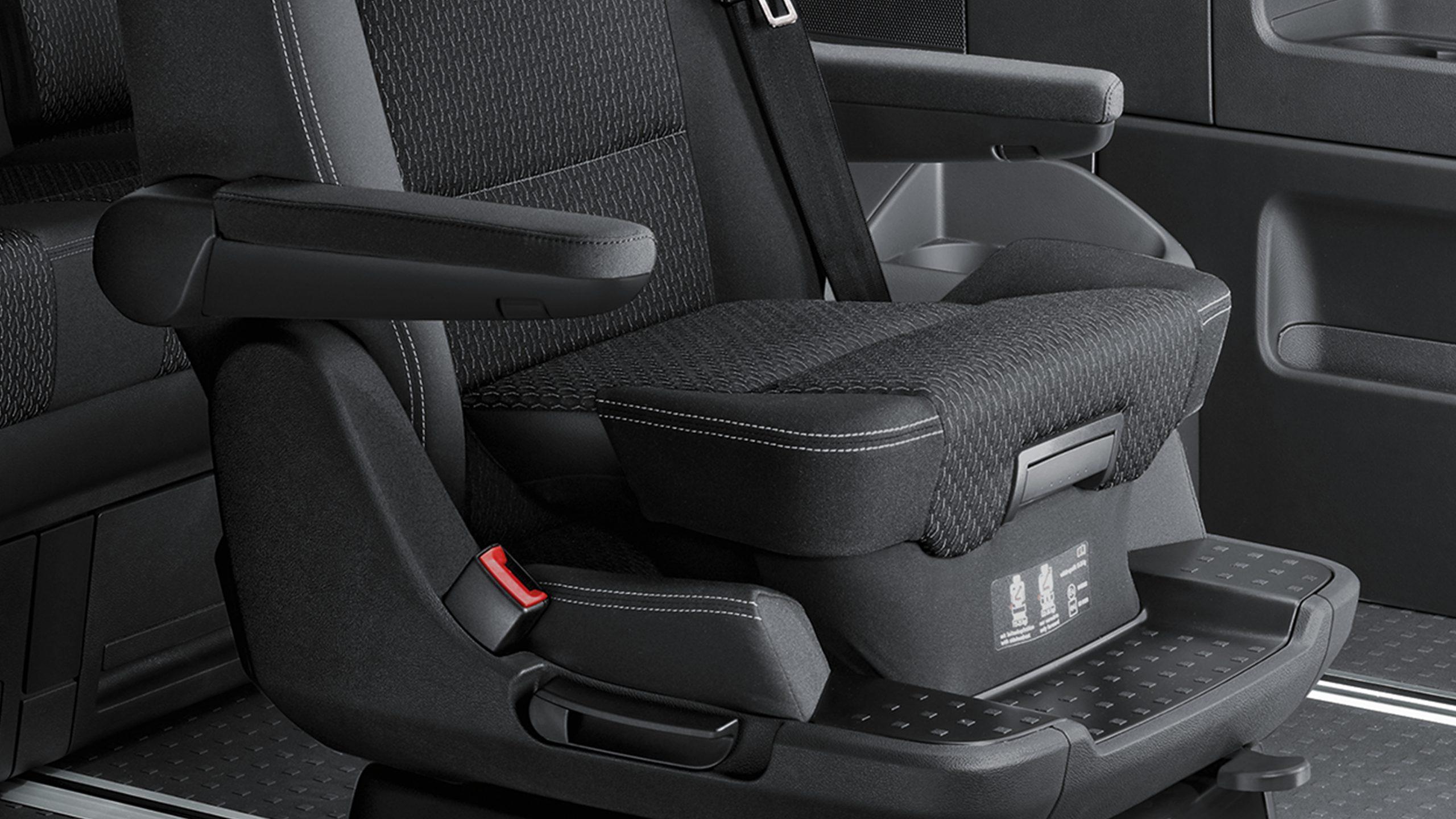 Интегрированное детское кресло Volkswagen Multivan