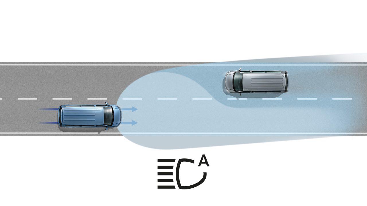Автоматические системы на Multivan
