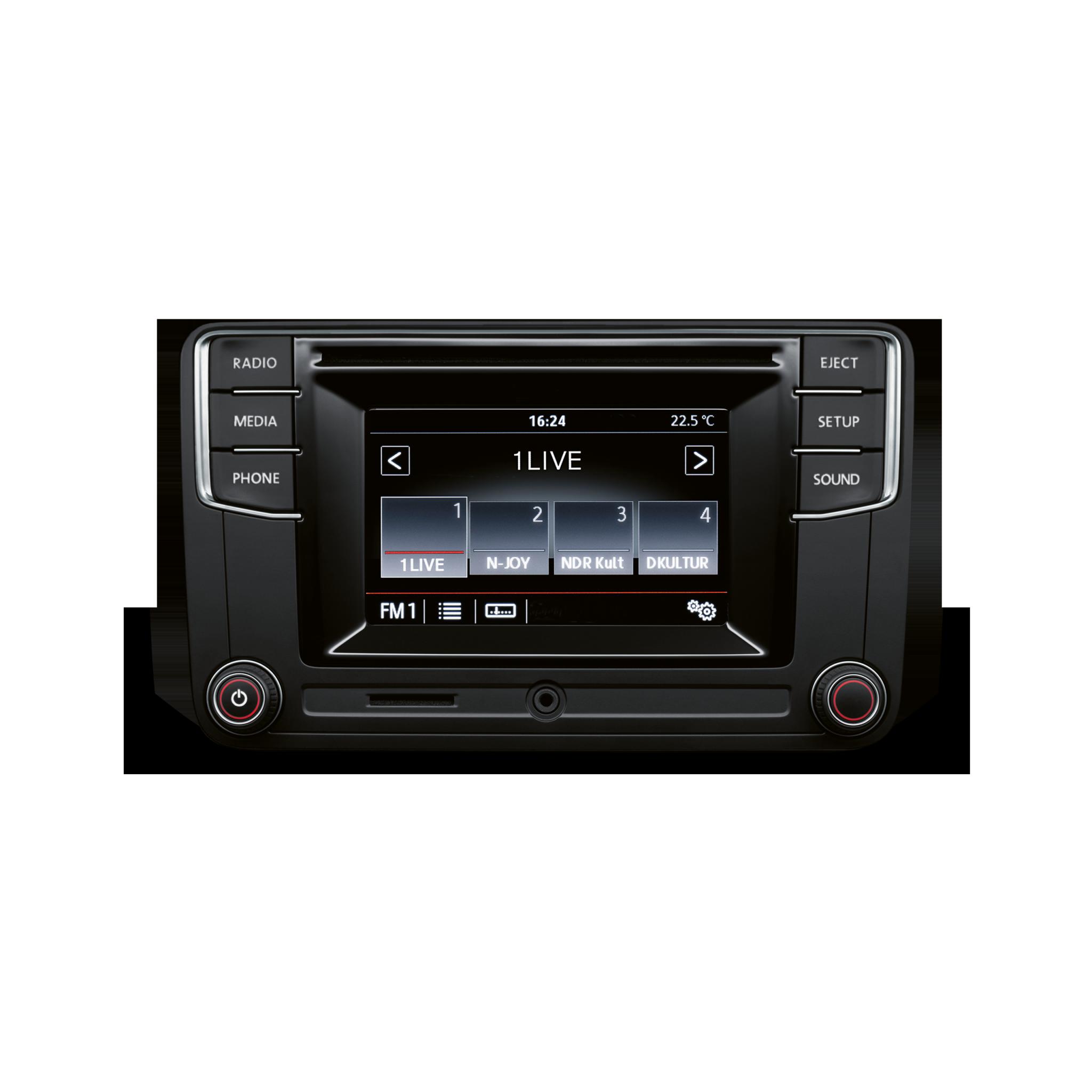Инфомедиа-система Composition Colour Volkswagen Transporter