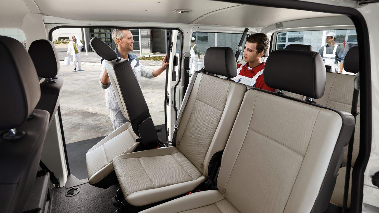 Трансформация салона Volkswagen Transporter