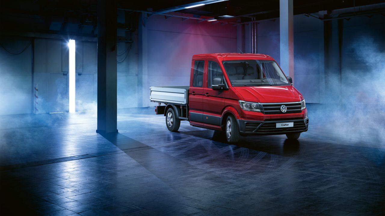 Система крепления груза для бортового грузовика Volkswagen Crafter Pritsche