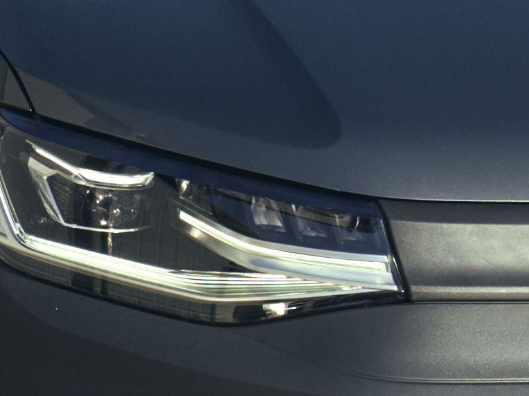Новые фары Volkswagen Caddy