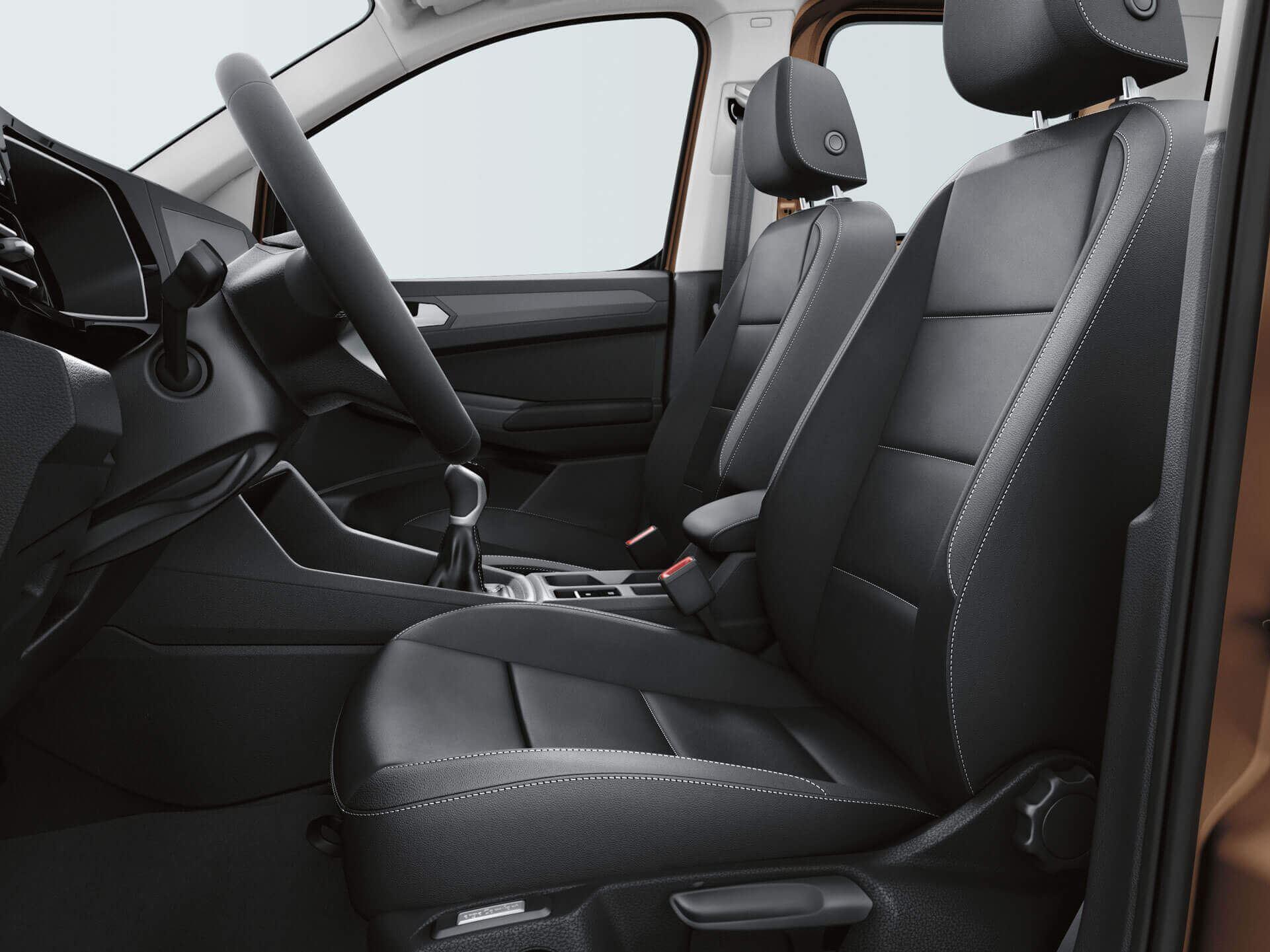 Сиденья ergoComfort в пассажирском и коммерческом Volkswagen Caddy