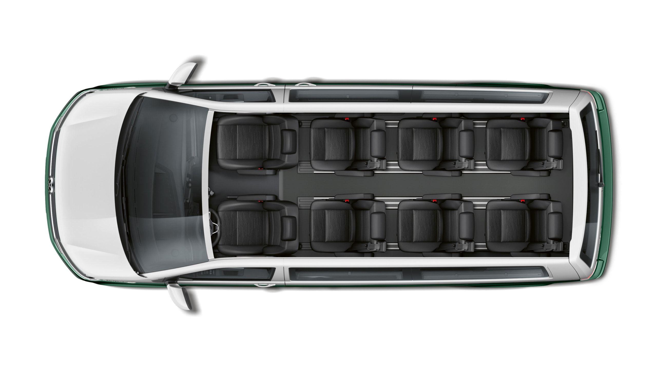 8 мест Volkswagen Multivan T6.1