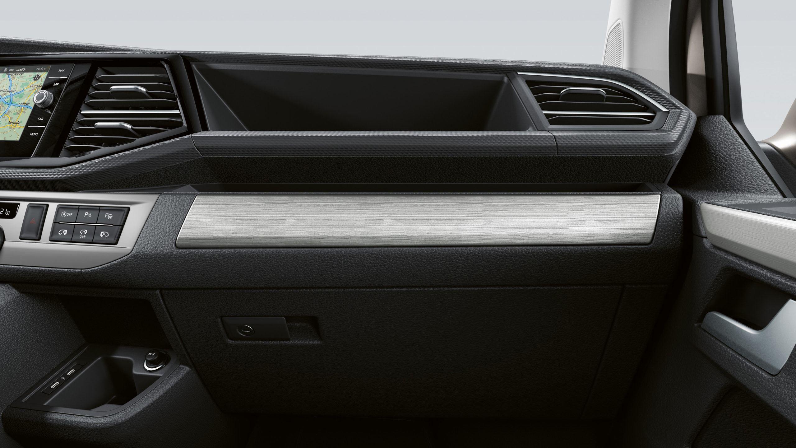 Фото декоративных вставок Volkswagen Multivan T6.1