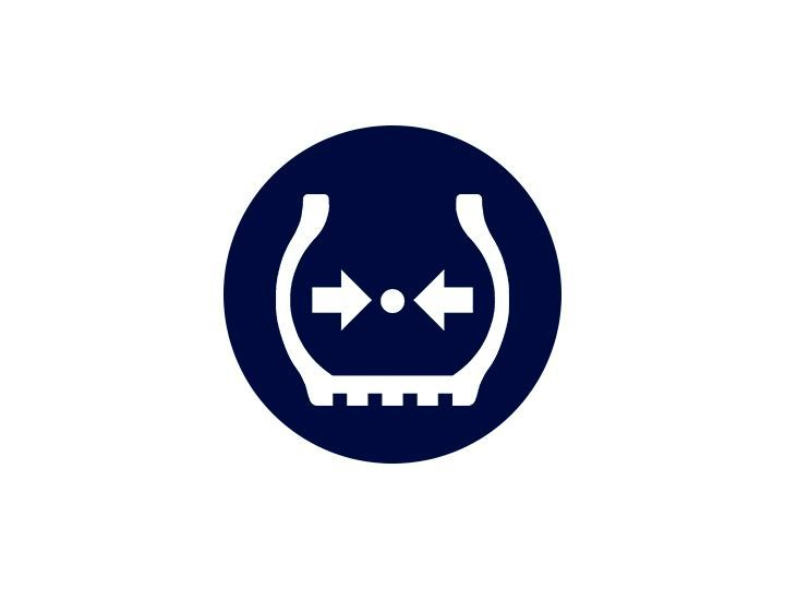 Система прямого контроля давления в шинах TPMS в Volkswagen Caddy 5