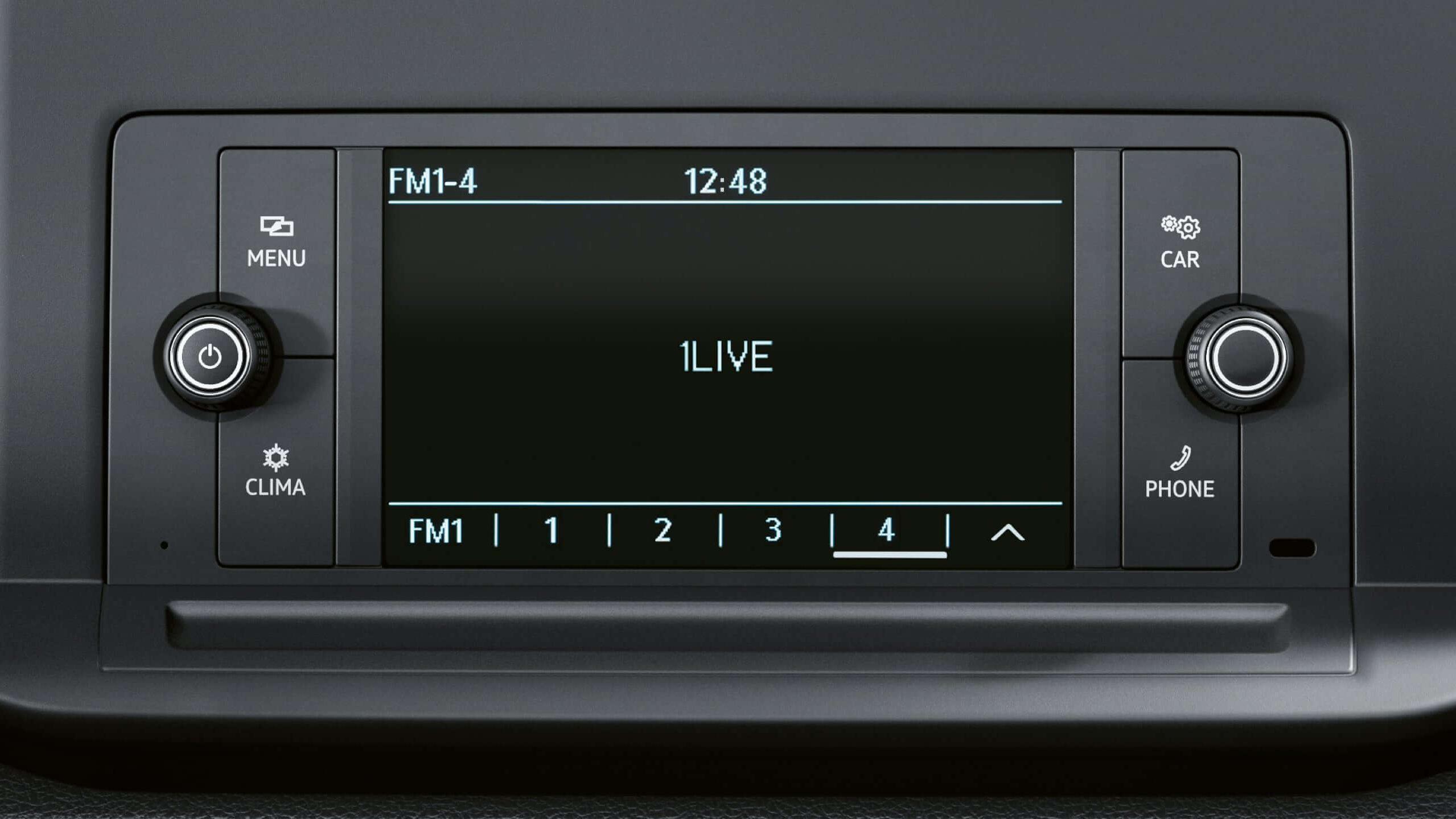 Инфомедиа-система Composition Audio Volkswagen Caddy