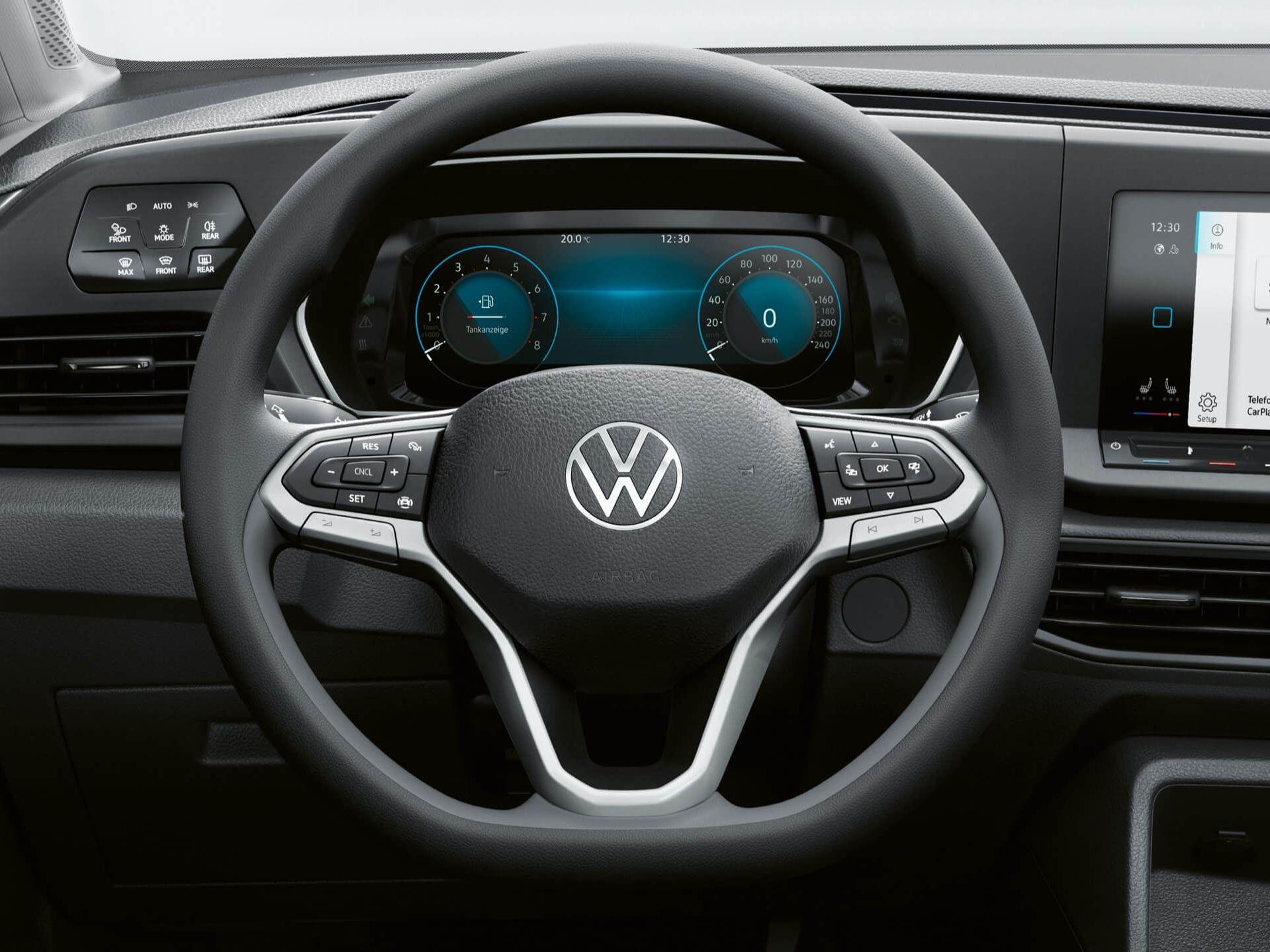 Многофункциональный руль в Volkswagen Caddy 5