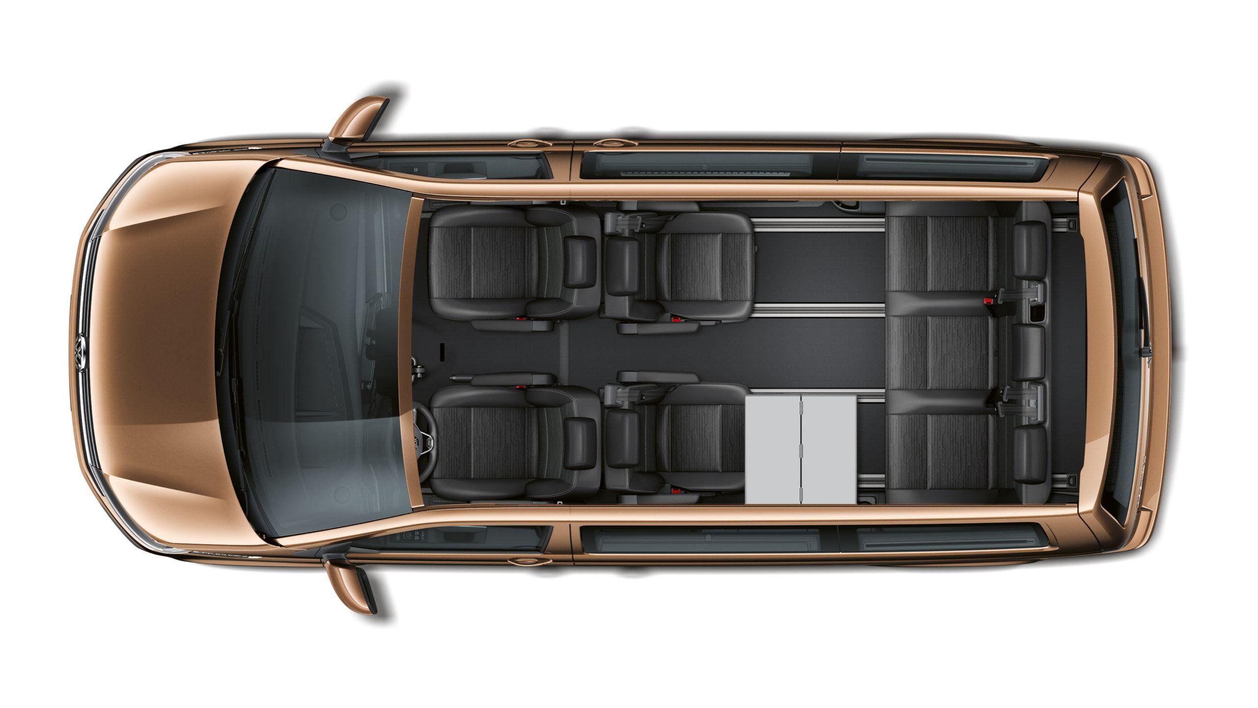 Удлинённый вариант кузова Multivan