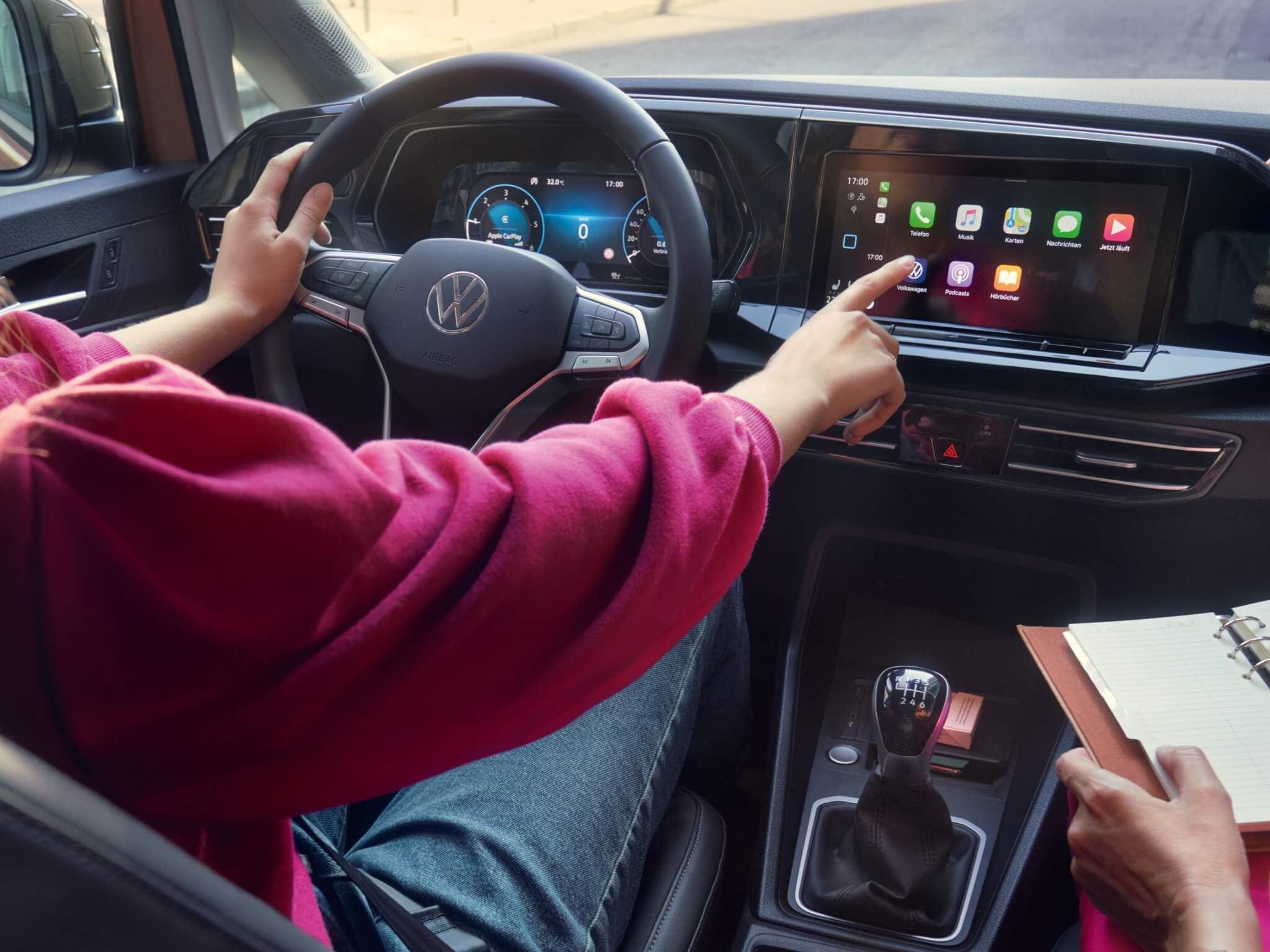 инфомедиа-система в новом Caddy