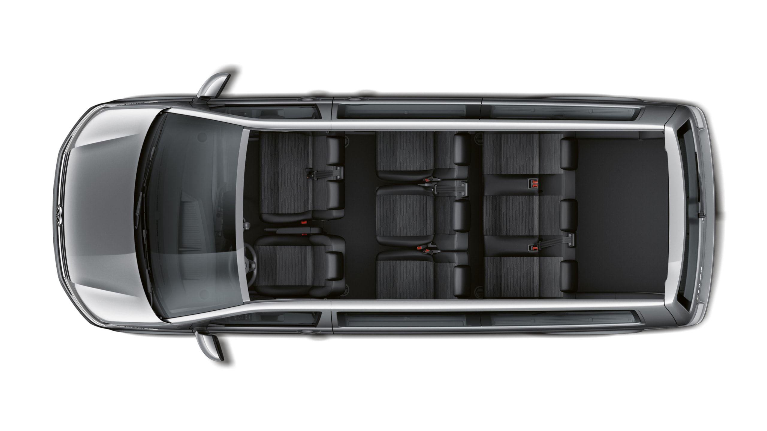8 мест Volkswagen Multivan T 6.1
