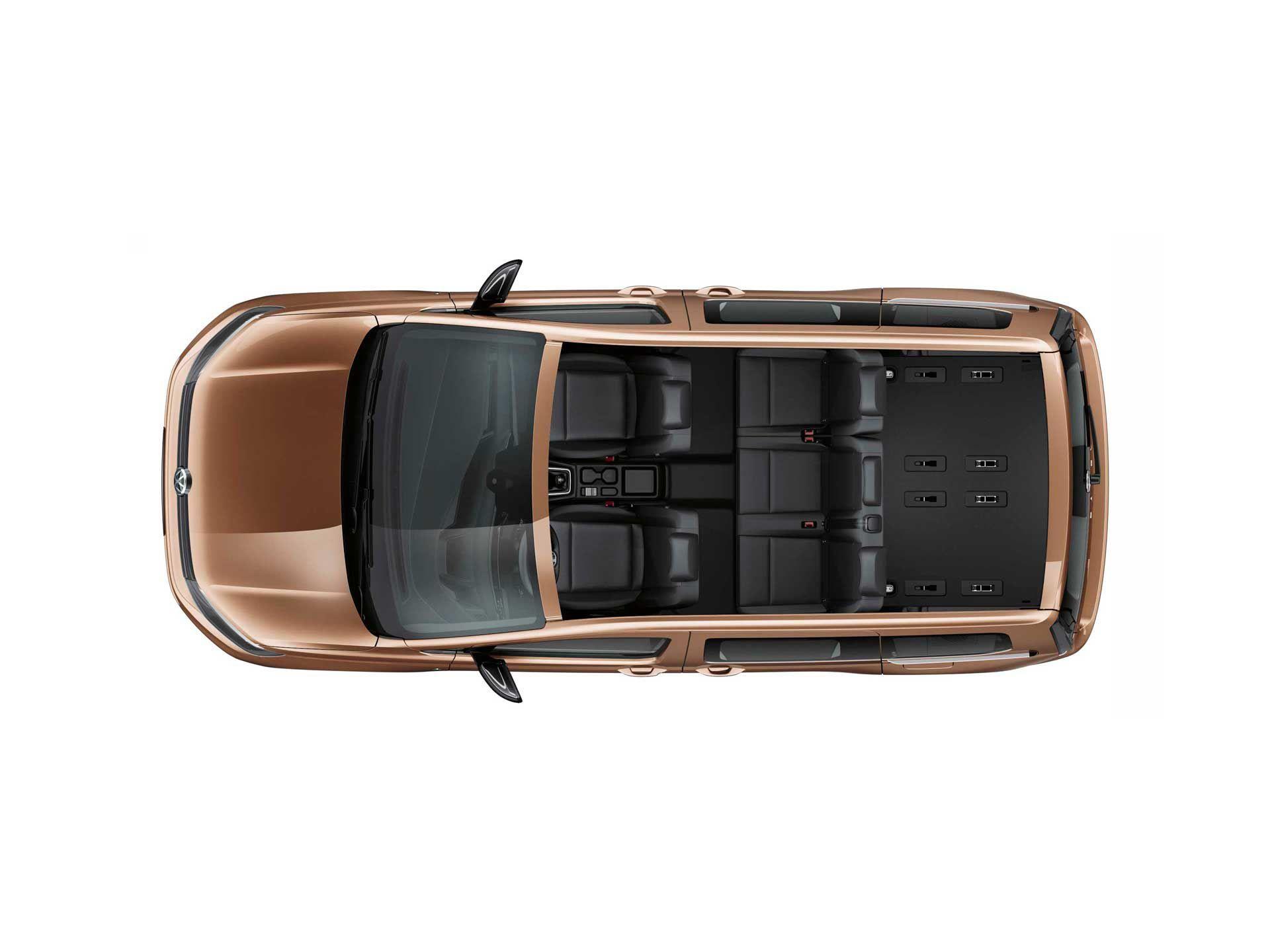 2-й ряд сидений Volkswagen Caddy