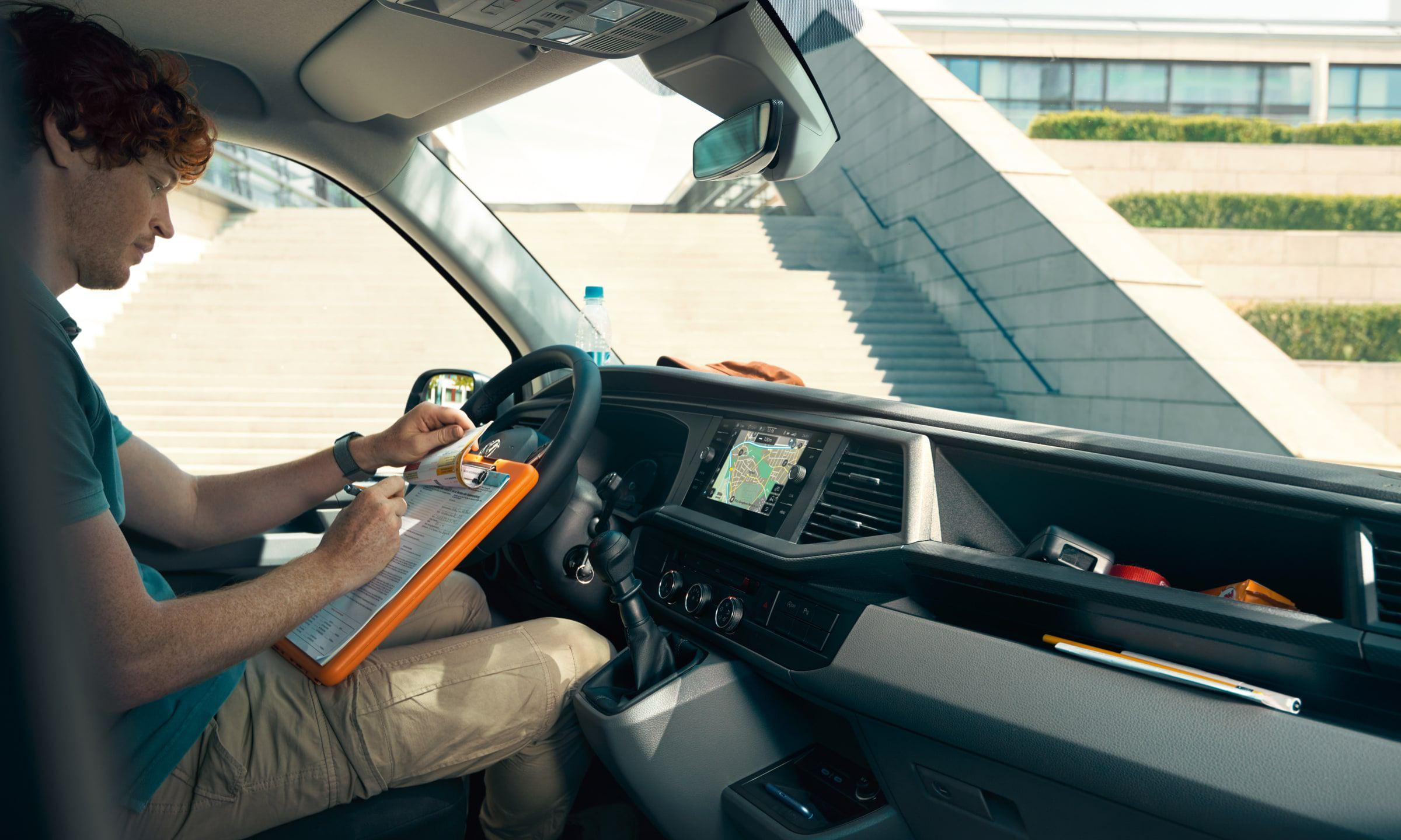 Рабочее место Volkswagen Transporter T6.1