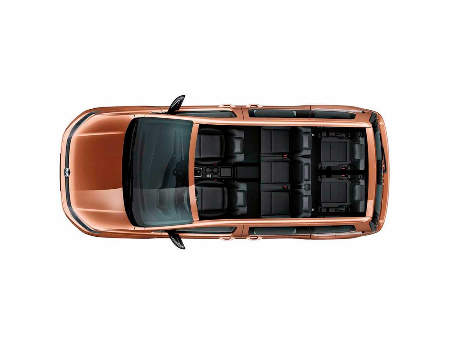 3-й ряд сидений Volkswagen Caddy