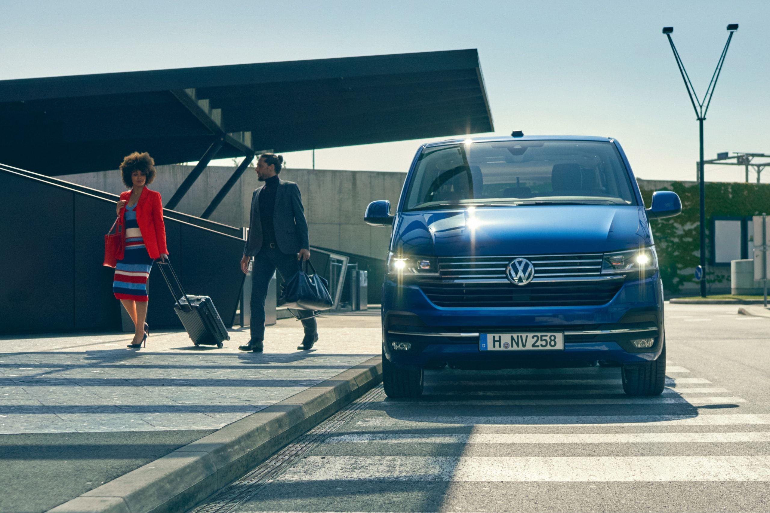 Фото новой Volkswagen Caravelle